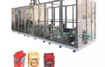 Automātiskā lineāro ķieģeļu vakuuma maisiņu iesaiņošanas mašīna