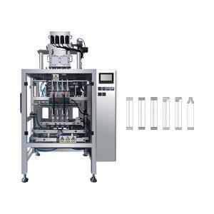 Automātiska Multi Lane Sachet Stick pulvera iesaiņošanas mašīna kafijai, pienam