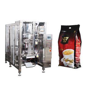 Coffee Quad bag Form Fill Seal iepakošanas mašīna