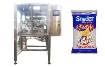 nepārtrauktas kustības vertikālās uzkodu pārtikas granulas iepakošanas mašīna