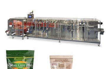 doypack pulvera granulu iepakojums horizontālās formas aizpildīšanas blīvējuma mašīna