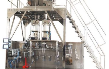 horizontāla iepriekš sagatavota iepakošanas mašīna ar daudzfunkcionālu svaru