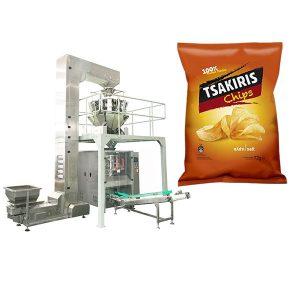 Kartupeļu čipsu iesaiņošanas mašīna