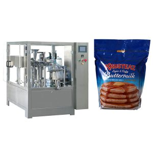 Stand-Up Zipper Premade Pouch Packing Machine