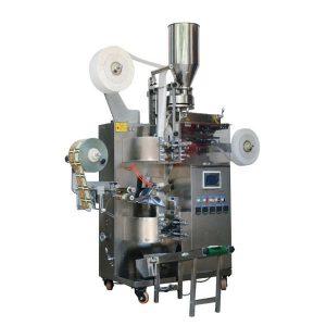 ZT-18 automātiskā tējas maisiņu iepakošanas mašīna (ar tagu un papīra ārējo maisu)
