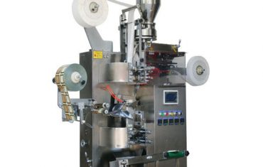 zt-18 automātiskā tējas maisiņu iepakošanas mašīna (ar tagu un papīru ārējā)
