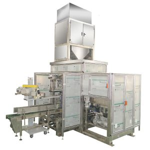 ZTCK-25 automātiskās soma barošanas iepakošanas mašīna, austi maisu iepakošanas mašīna