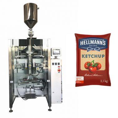 500g-2kg kečupas mērces iepakošanas mašīna